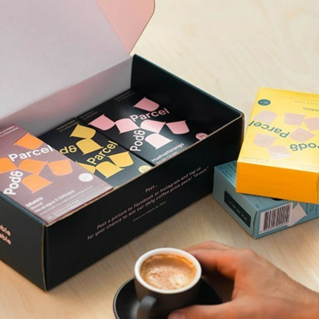Conserve the world with a coffee pod sampler of delicious tastes in eco-friendly, compostable capsules