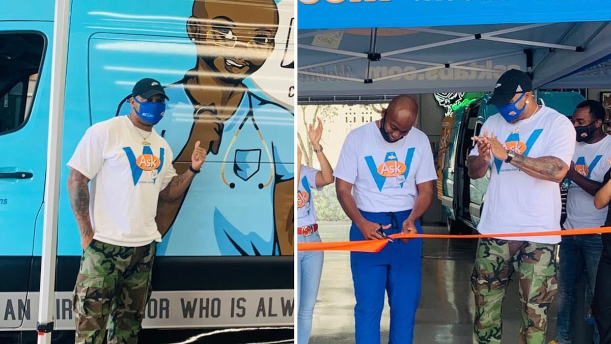 Flo Rida Teams with Doctor to Release Mobile COVID-19 Testing Center
