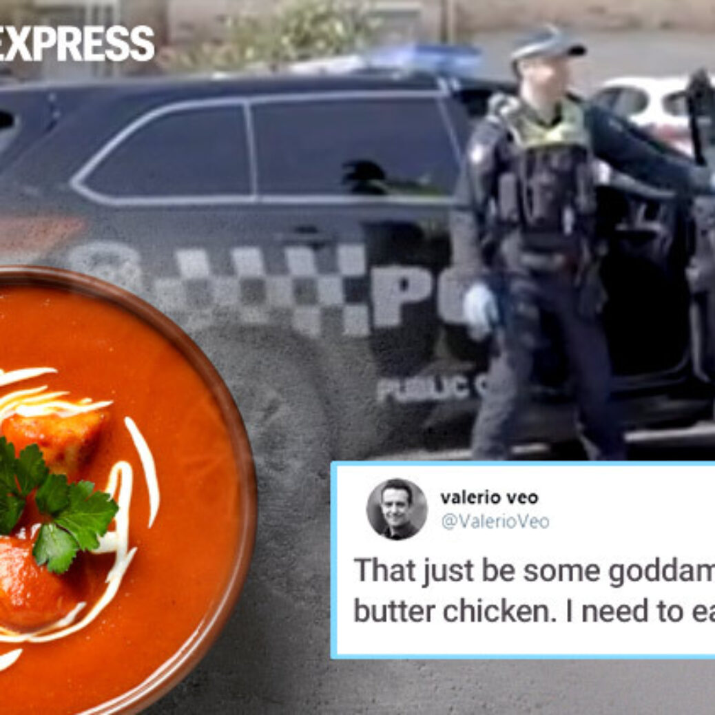 How far can you go for butter chicken? This is what a Melbourne guy did