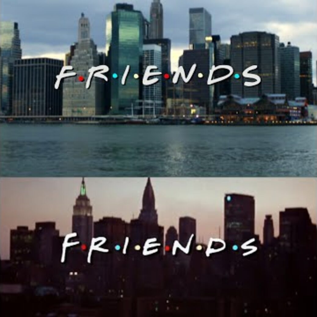 These classic TELEVISION title series recreated with stock video are bizzarro